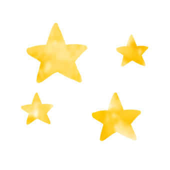 Many stars (fluffy)