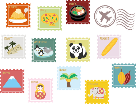 World Travel - Stamp Wind ~