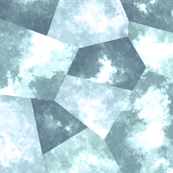 Watercolor style background material 02 / Gray
