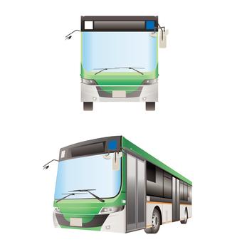 フルフラットバス 通勤バス