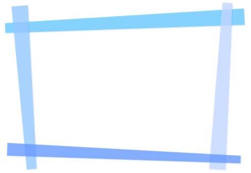 Combination frame 【Blue】