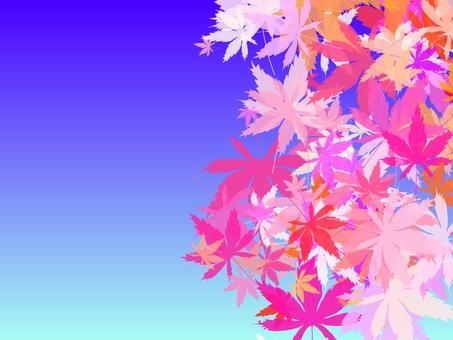 Autumn leaves empty 3
