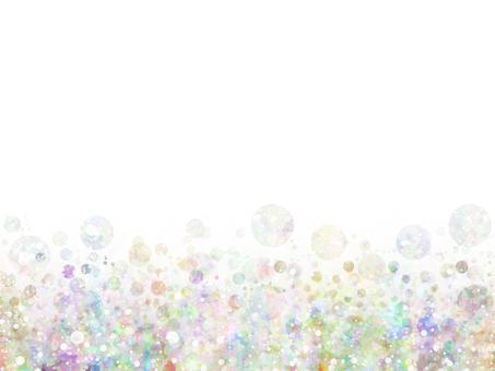 Mixing dots 18 (rainbow)