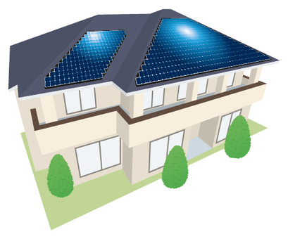 Solar power house _ 2