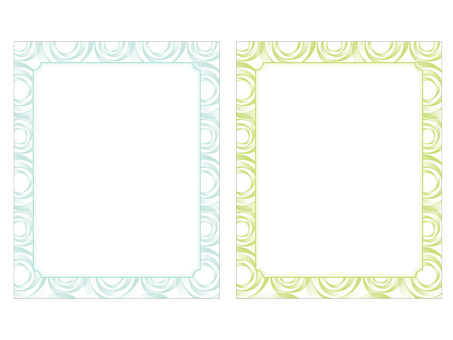 Luxurious frame (invitation / message card)