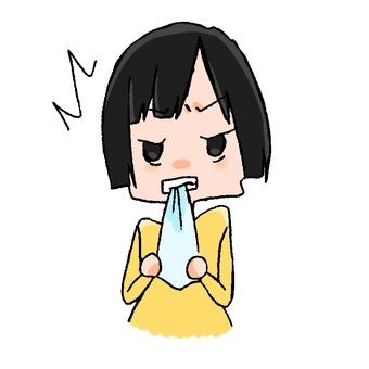 Bite handkerchief