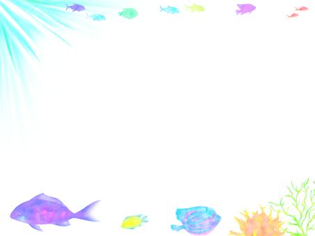 Sea fish frame 3