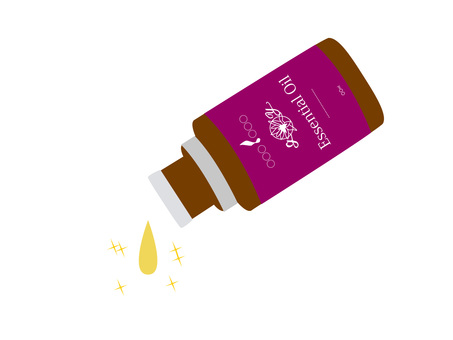 Aroma bottle (purple)