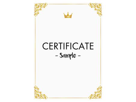 Certificate design ver5
