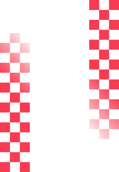 Red and white grid