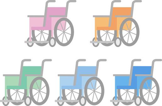 70914. Wheelchair, five