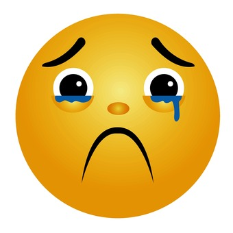 Emoticons that endure crying