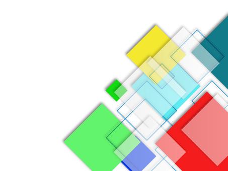 Square colorful