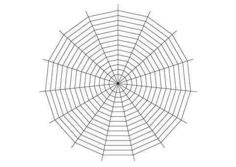 Spider web 01 transparent png