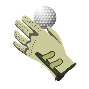 Gloves and golf balls