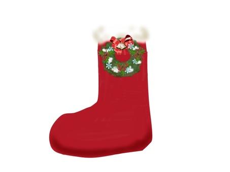 Christmas boots 1