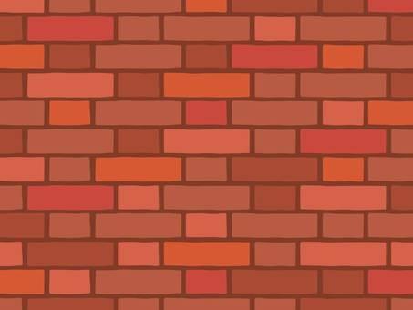 Red brick (dark joint)