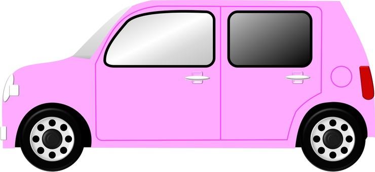 Automobile (pink)