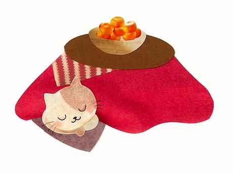Cat and Kotatsu