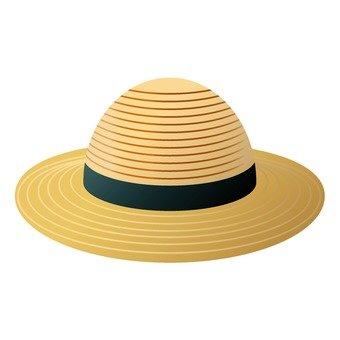 Straw Hat (Black)