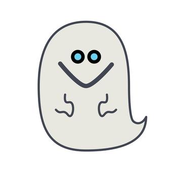 귀여운 유령의 일러스트