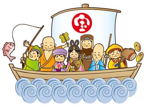 Children's Seven Lucky God