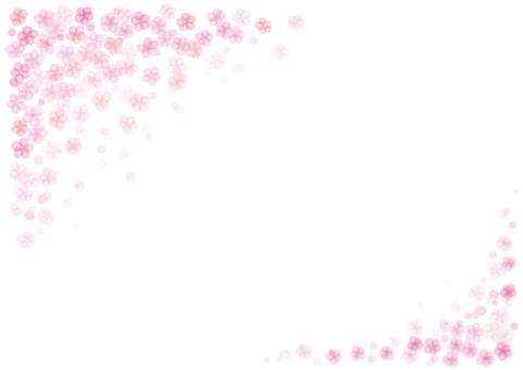 水彩風桜イメージ