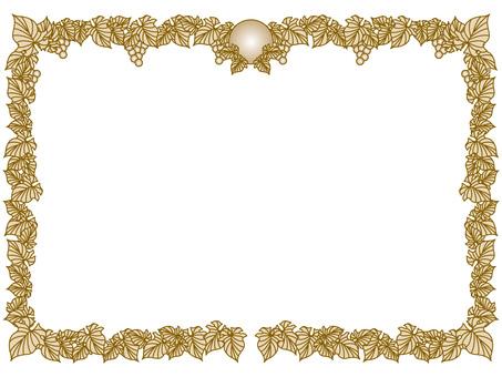 Award slip frame