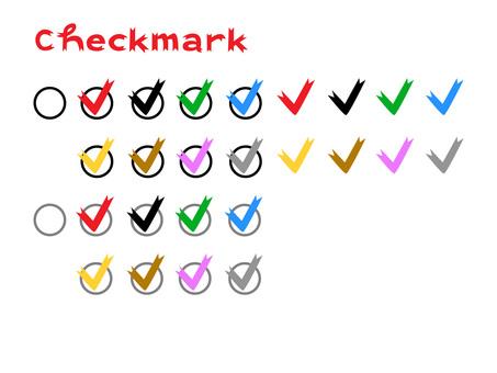 Check mark set 2