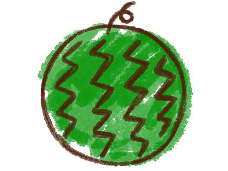 Crayon series [watermelon]