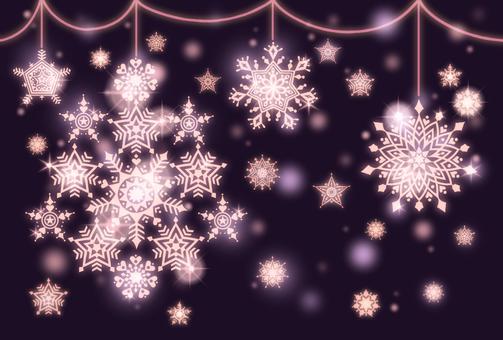 Snow Stardust 3 (Pink)