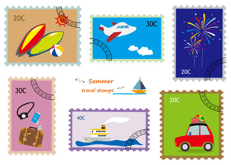 Stamp Wind Series 1 Travel