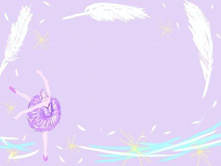 Ballet Frame Swan Lake