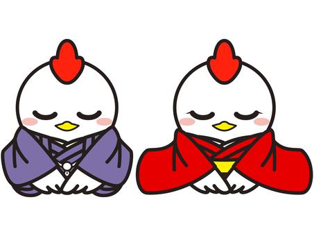 Rooster illustration 06