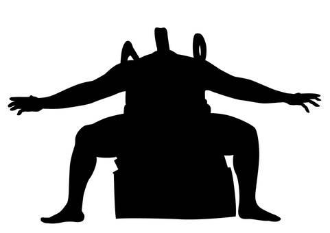 Sumo / silhouette