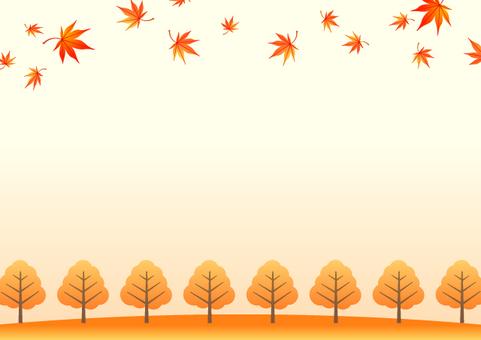 秋叶背景材料6