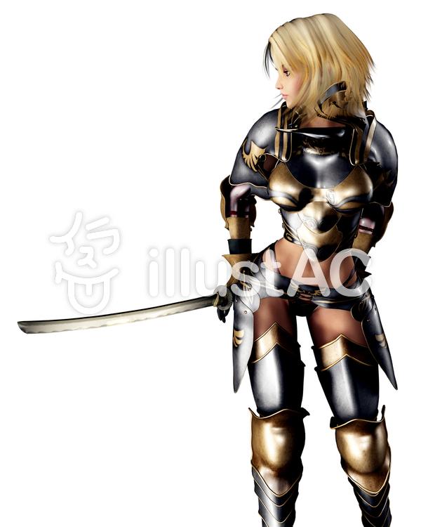 和剣騎士のイラスト