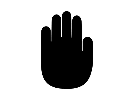 손 (보통)