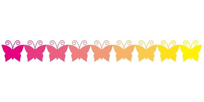 Butterfly line 01