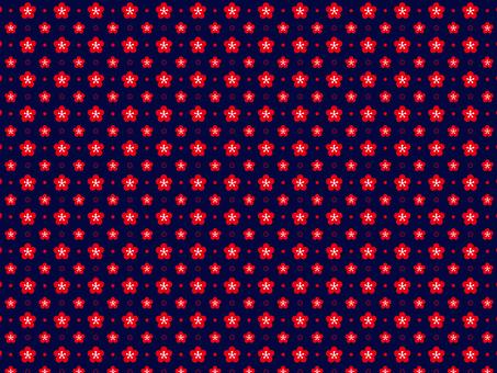 Plum flower pattern 6