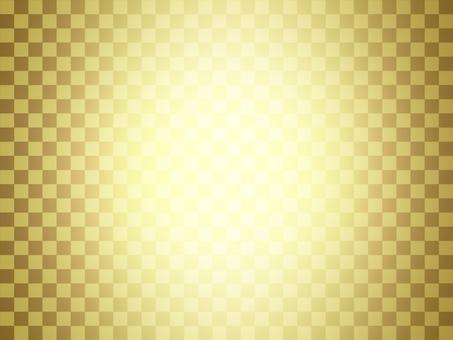 Gold folding screen Chidori pattern _ Spotlight