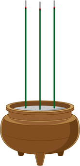 Incense incense stand