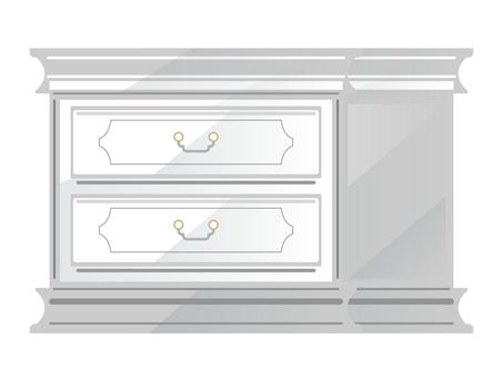 Antique furniture Small chest