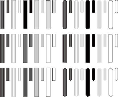 標題框架單色系列5