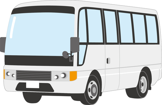 Microbus A (white