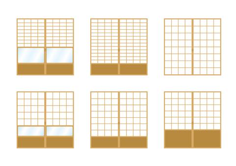 Shoji paper screen 01