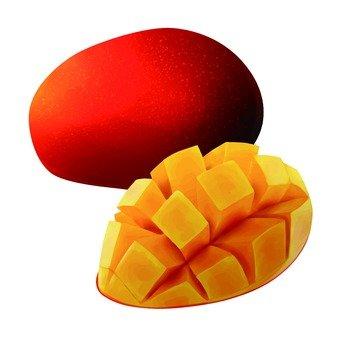 Mango, cut