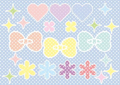 Lovely motif dot