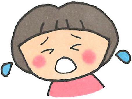 Crying child (girl)