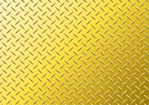 Striped steel plate metal plate gold wallpaper